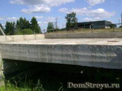 Эркер — бетонное перекрытие
