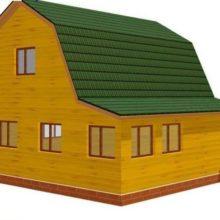 Состав проекта для строительства дома из бруса