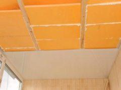 Как утеплить потолок в квартире пеноплексом